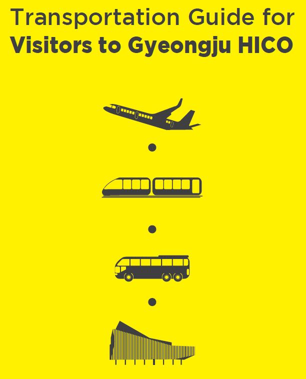 Transportation Guide for Visitors to Gyeongju HICO (English Ver.)